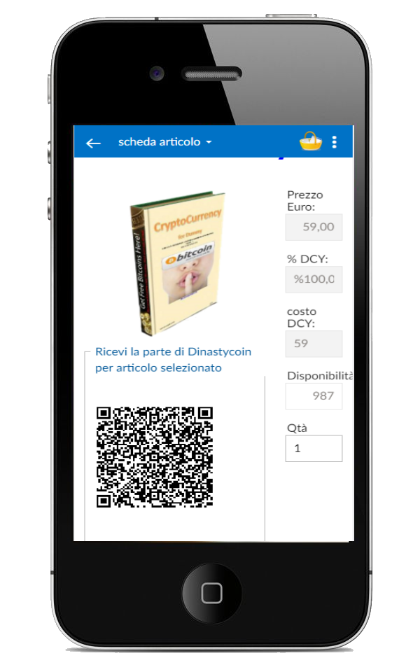mobile app for customers and merchants